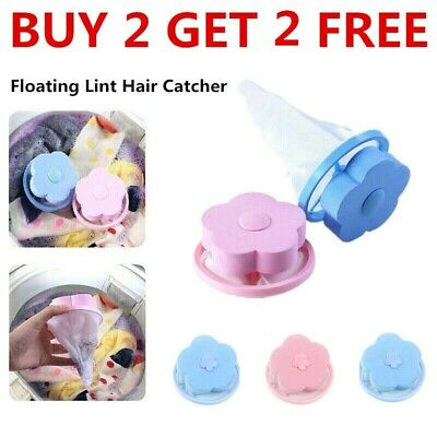 USA Floating Pet Fur Catcher Laundry Lint & Pet Hair Remover Buy 2 Get 2 Free