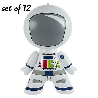 "24/"" Robot Green  Inflatable Space//Future Inflate Blow Up Toy Party Decoration"