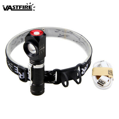 Headlamp Zoomable T6 LED 1000Lm Bicycle Bike Torch Headlight 3 Mode Flashlight A