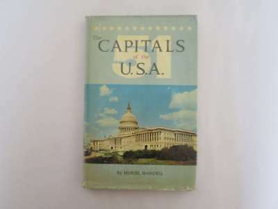 Acceptable - The 51 Capitals of the U. S. A Muriel Mandell 1965 Oak Tree Press