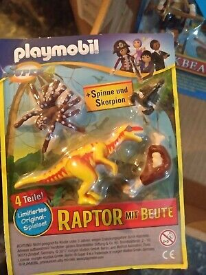 PLAYMOBIL VETERINARIA EN BLISTER REVISTA PLAYMOBIL
