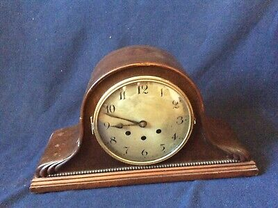 BADISCHE UHRENFABRIK German Mantel Clock  Antique Westminster Chime SERVICED