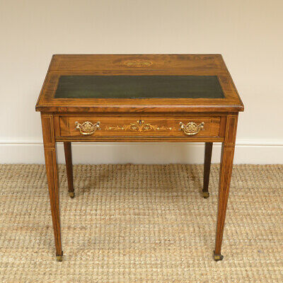 Stunning Quality Adjustable Victorian Rosewood Antique Writing Table