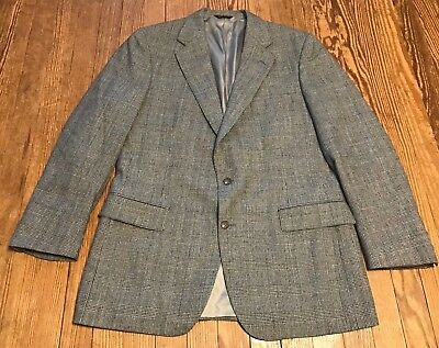 EUC POLO UNIVERSITY CLUB BY Ralph Lauren VIRGIN WOOL BLAZER 2 BUTTON SUIT JACKET