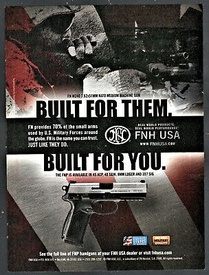FN HERSTAL USA FNH Weapons Combat Arms Ballpoint Pen