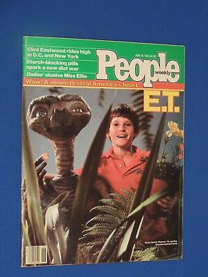 People Magazine 1982 E.T. Newsstand Issue No Label