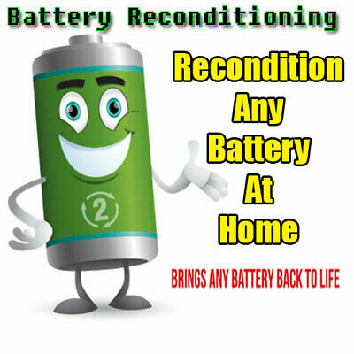 Battery Reconditioning  Recondition Any Battery At Home DIY Technology