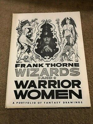 1978 FRANK THORNE Signed/Numbered Wizards and Warrior Women Portfolio