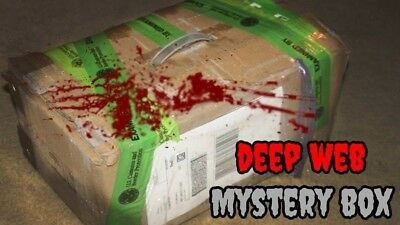 DEEP WEB BOX From Silkroad VERY SCARY - $40 00 | PicClick