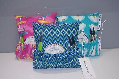 Hand crafted deluxe pin cushions by Susan Scollen - Susan Collection