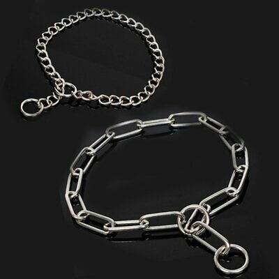 Pet Dog Chain Necklace Puppy Row Choker Collar Neck Leash 30/40/50CM BA