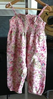 Monsoon Girls Gorgeous Cotton Playsuit BNWT Age 18-24 Month