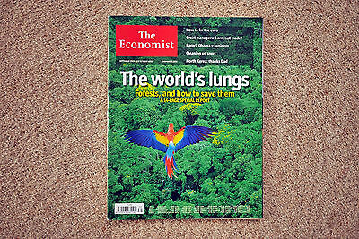 * The Economist September 25 - October 1 2010 Forests special report sustainable