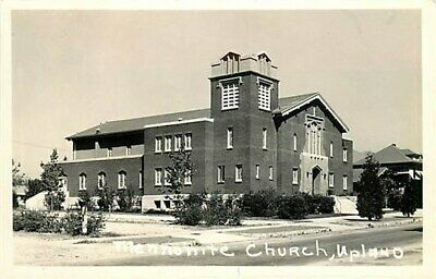 CA, Upland, California, Mennonite Church, RPPC