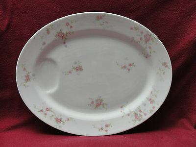 "THEODORE HAVILAND China - TOURAINE Pattern - 14"" OVAL SERVING MEAT PLATTER"