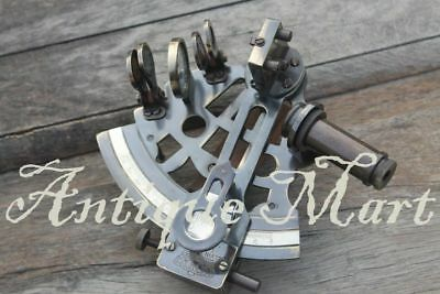 Nautical Astrolabe Antique Brass Sextant Maritime Marine Ship Navigation Sextant