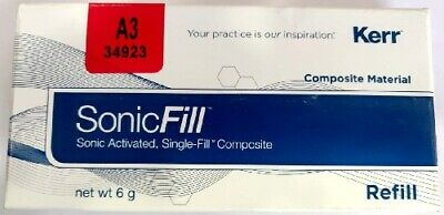 New Dental Product Material Instruments Kerr Sonic Fill A3 Bulk Fill Composite