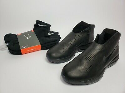a1486eb137b2 NIKE ZOOM MODAIRNA Womens sz 10 Black Perforated Leather Casual - 880884 001