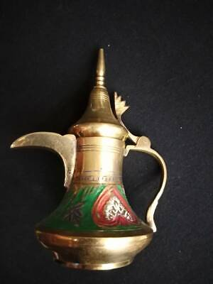 Antique Arabic Islamic Copper Dallah Coffee Decorated and hand-made