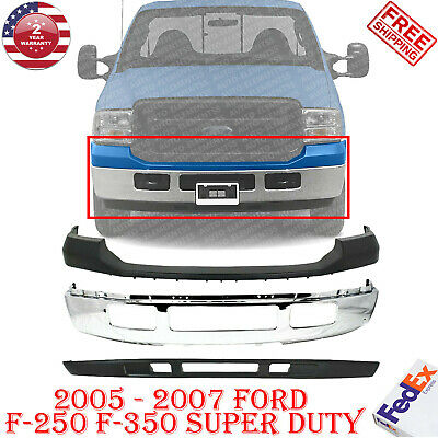 Primed w//o Absorber F-SERIES SUPER DUTY 05-07 FRONT BUMPER COVER