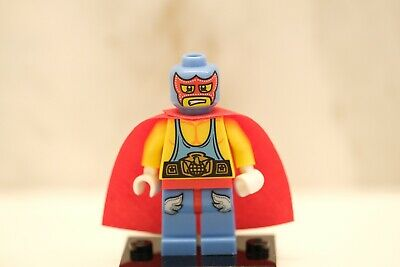 LEGO Collectible Figure Minifig Minifigure 8683 Series 1 SUPER WRESTLER NEW Rare