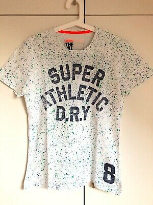 0ce2f9ad7 T-shirts pour homme Superdry Men Tshirt Size Small Japan Athletic ...