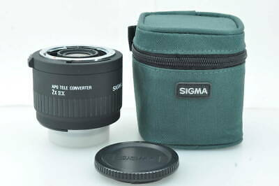 [MINT] SIGMA APO TELE CONVERTER 2x EX for NIKON with case from JAPAN