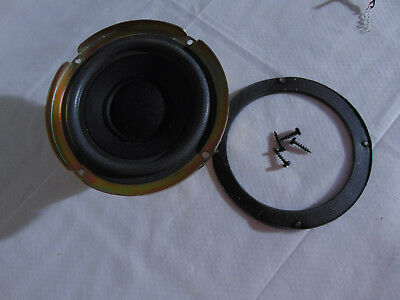 """NEW 5.25/"""" Woofer Speaker.Home Audio.5-1//4.4ohm.Shielded Replacement Driver.5inch"""
