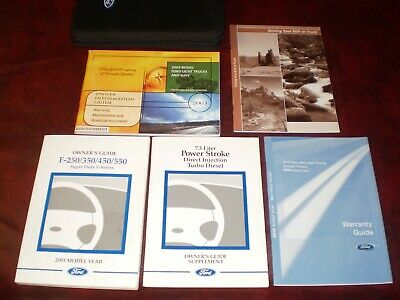 2003 ford f250 6.0 owners manual