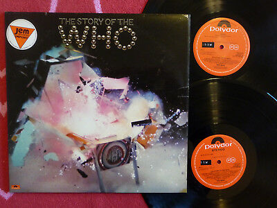 WHO Story Of The Who 2-LP Polydor 1976 UK Pressing