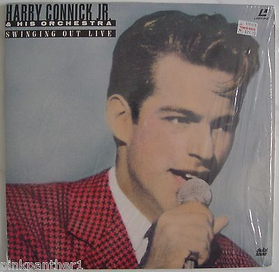 HARRY CONNICK Jr.. &  His Orchestra - SWINGING OUT LIVE  1990 Dallas  Laserdisc