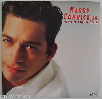 Harry CONNICK , Jr.. The New York Big Band Concert   & His Orchestra  Laserdisc