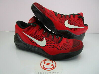 bc446ecbb1f NIKE KOBE IX 9 Elite Low UNIVERSITY RED 11 -  163.50