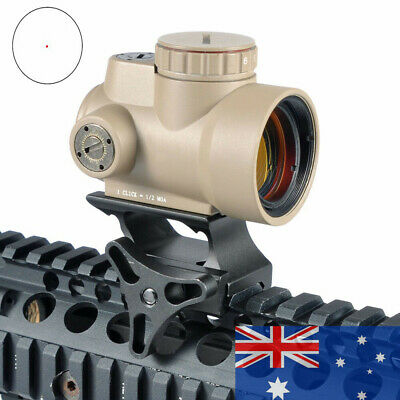 1x25 MRO Red Dot Sight 2.0 MOA Holographic Sight QD Low Mount Tactical Hunting