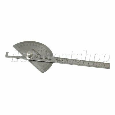 180 Degree Rotary Protractor Angle Determinenation 0-10cm Ruler Tool