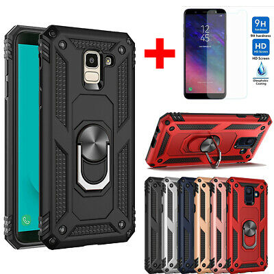 Military Armor Cover Shockproof Case For Samsung Galaxy J4 J6 Plus A6 A7 A9 2018