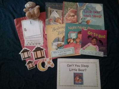 Can't you Sleep Little Bear? by Martin Waddell Story, Books & Sack EYFS/ KS1