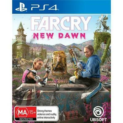 Far Cry New Dawn PS4 (Game Brand New & Sealed) FAST DELIVERY FREE POSTAGE