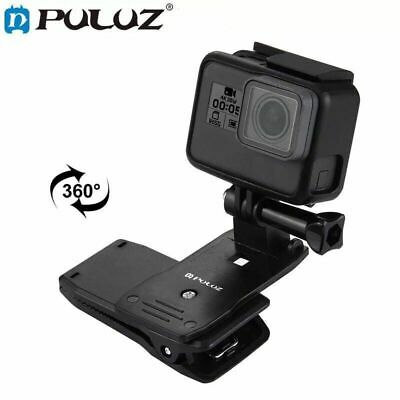 Mount for GoPro Hero 7/6/5/4/3+3 Xiaomi Yi 4K Rotate Backpack Clip Clamp Sports