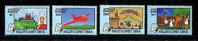Antigua & Barbuda 920-923, MNH, Halley's Comet, 1986. x20108