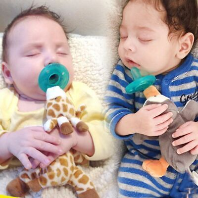 Cute Baby Pacifier Plush Toy wubbanub Newborn Kids Boys/Girls Cartoon Nipp
