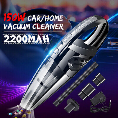 AUDEW Car Vacuum Cleaner 3500PA Cordless HEPA Portable Rechargeable For Car Home