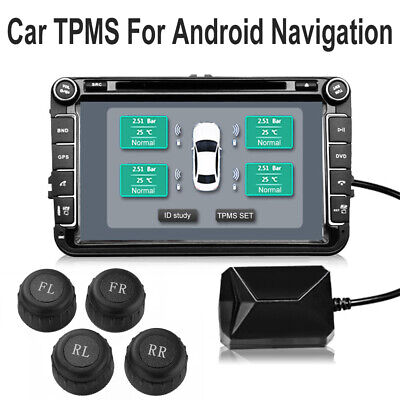 Tire Pressure Real-Time Monitoring System USB TPMS For Most Vehicles MA1906