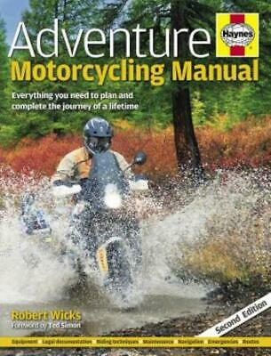 New Book Adventure Motorcycling Manual Journey Planning Equipment Navigation