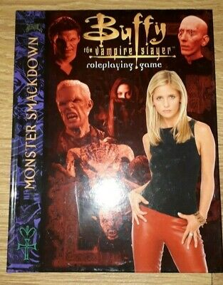 * Buffy The Vampire Slayer ~ Roleplaying Game Monster Smackdown * Rare
