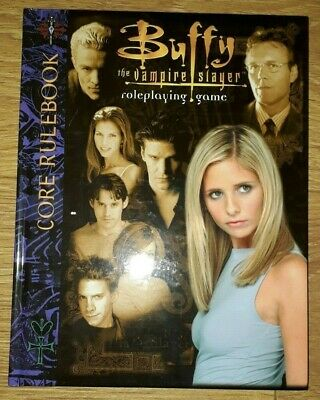 * Buffy The Vampire Slayer ~ Roleplaying Game Core Rulebook * Rare
