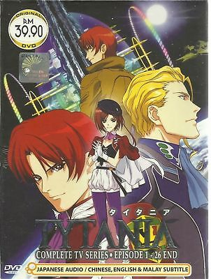 DVD Anime Tytania Episode 1-26 End English Subtitle Free Shipping