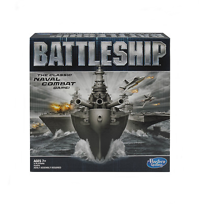 Battleship - The Classic Naval Combat Strategy Board Game from Hasbro Games