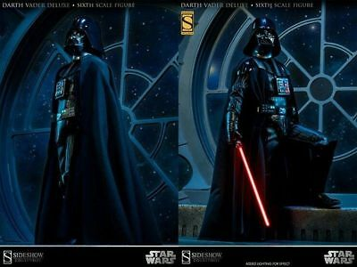 DARTH VADER DELUXE 1/6 Figure SIDESHOW EXCLUSIVE Star Wars ROTJ 2013 NEW
