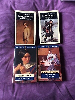 Selection of Four Classic Paperback Novels by British Authors